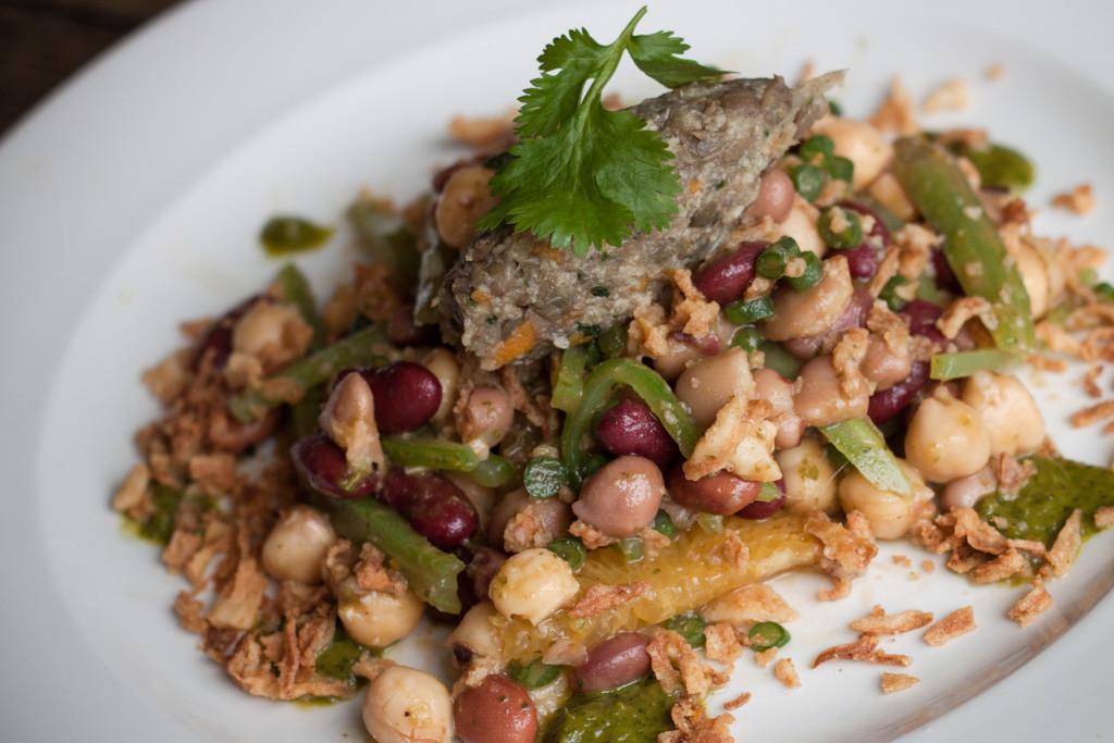 TMH Autumn Classic Menu Seven Bean Salad