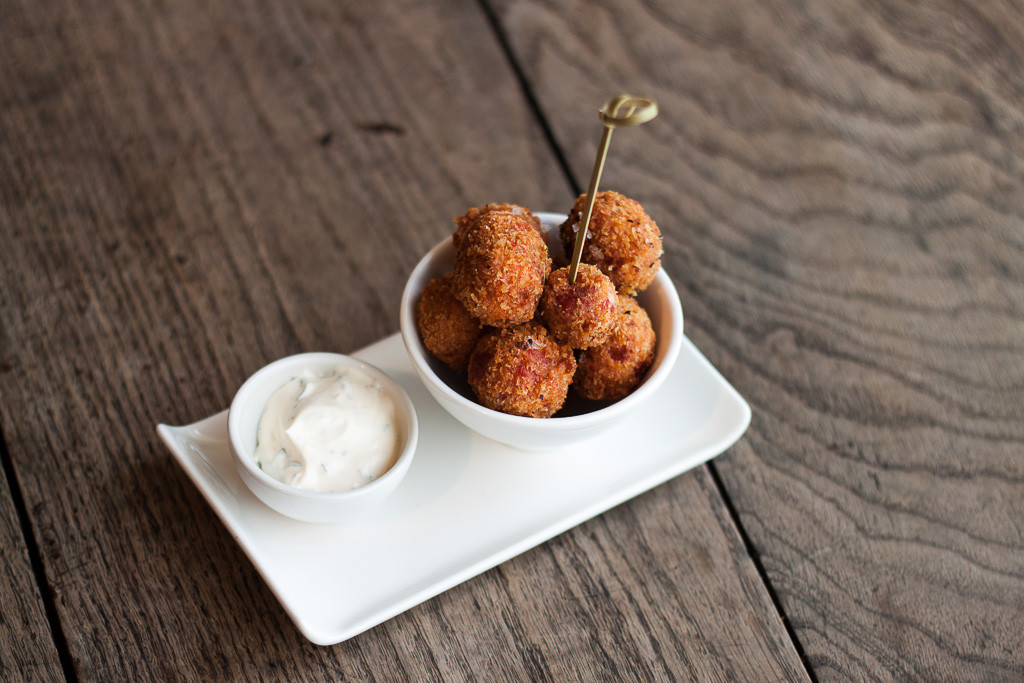 TMH Beetroot Risotto Balls