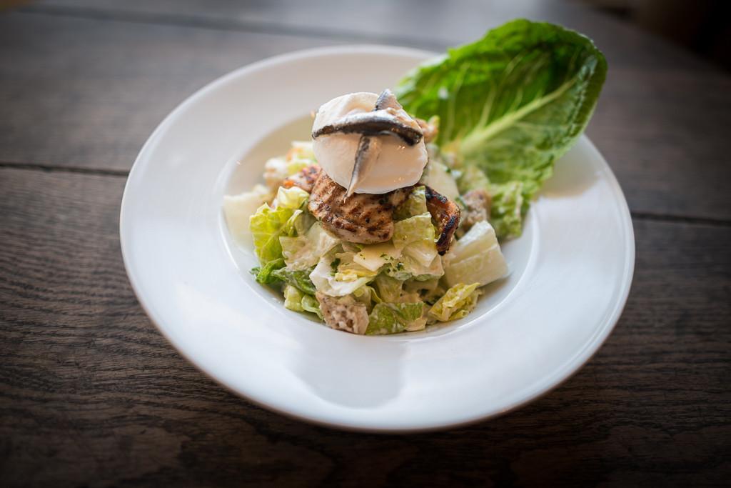 TMH Chicken Caesar Salad