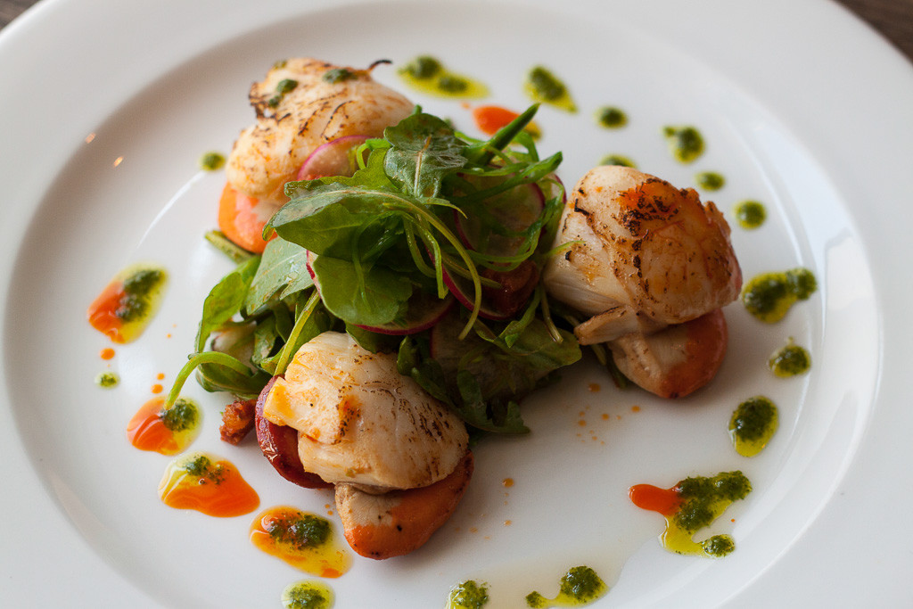 TMH Scallops with Chorizo
