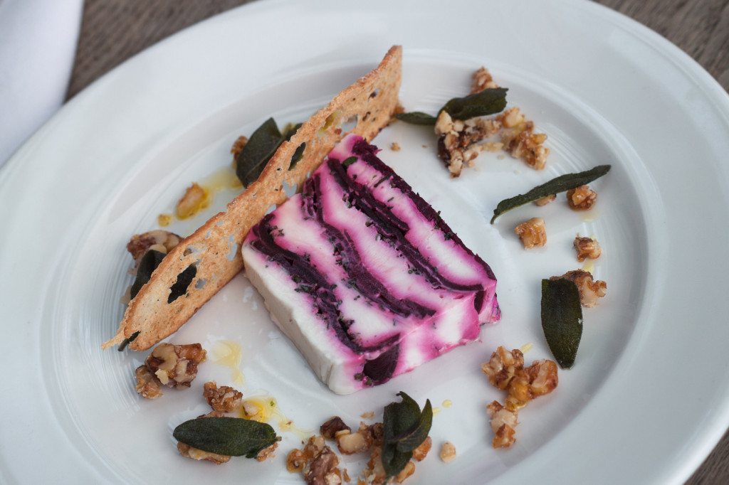 TMH Beetroot & Goat's Cheese Terrine