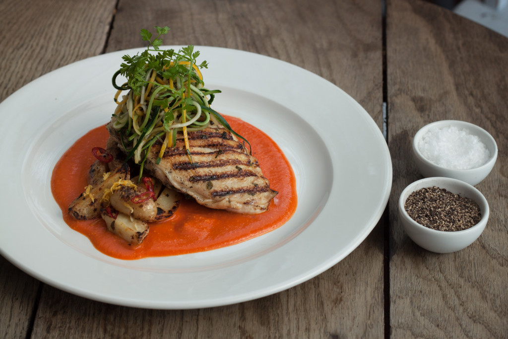 TMH Chargrilled Chicken with Romesco Sauce